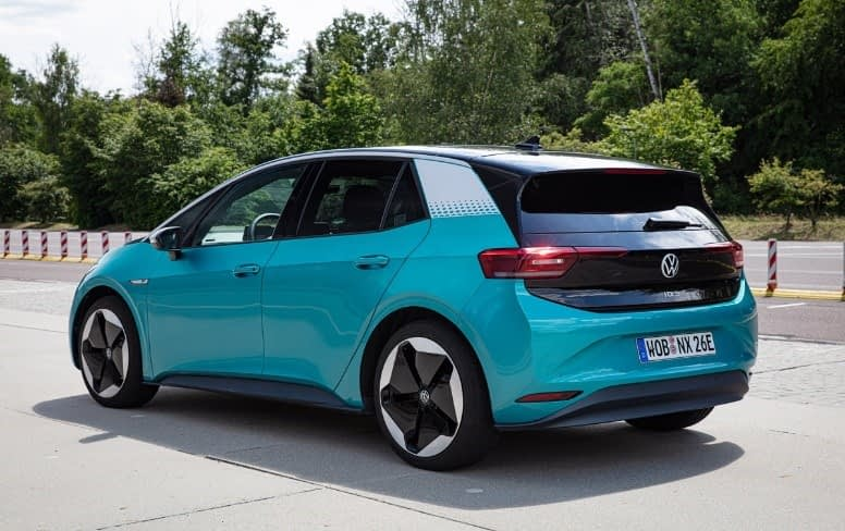 autonomia dos carros elétricos - Volkswagen I.D.3 Pro S