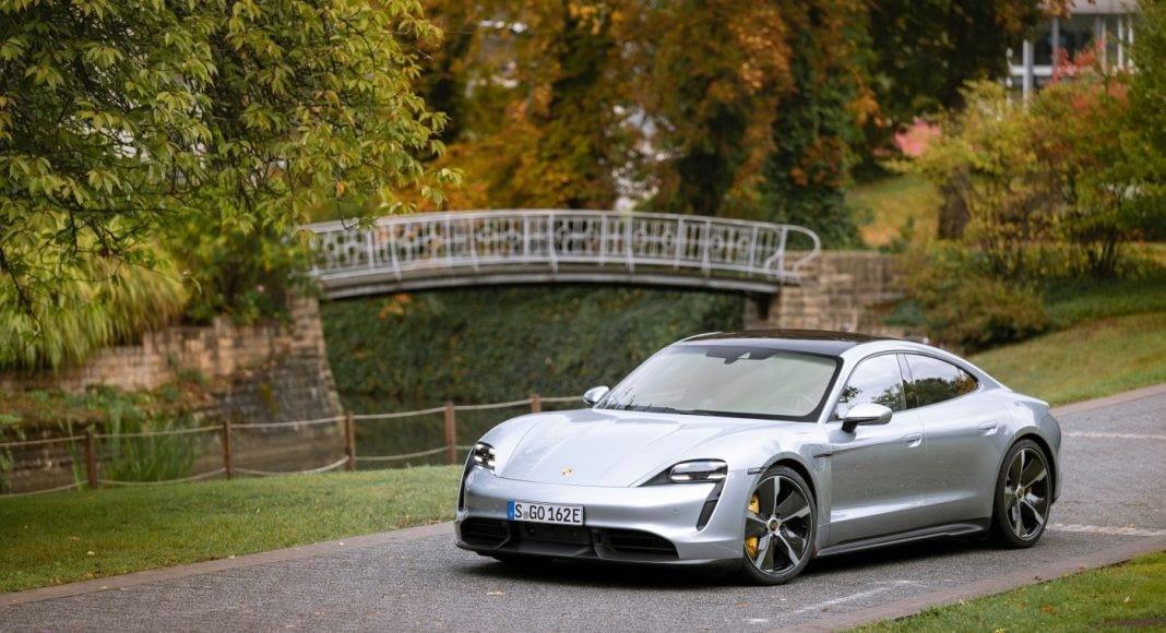 autonomia dos carros elétricos - Porsche Taycan Turbo S