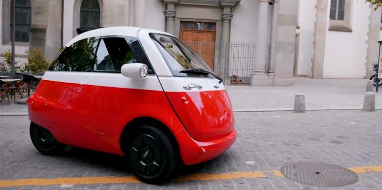 Carros Elétricos - Microlino
