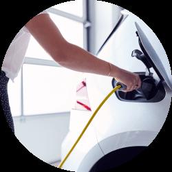 Solução carregadores para carros elétricos domésticos