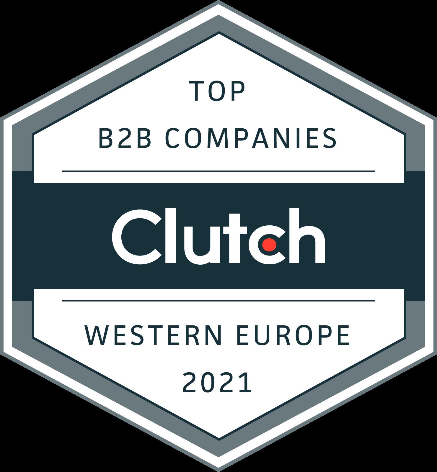 IT nearshore - Clutch Award B2B
